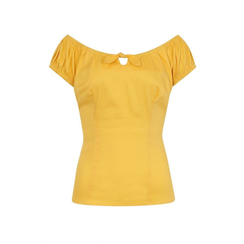 Top Dolores Yellow - Collectif