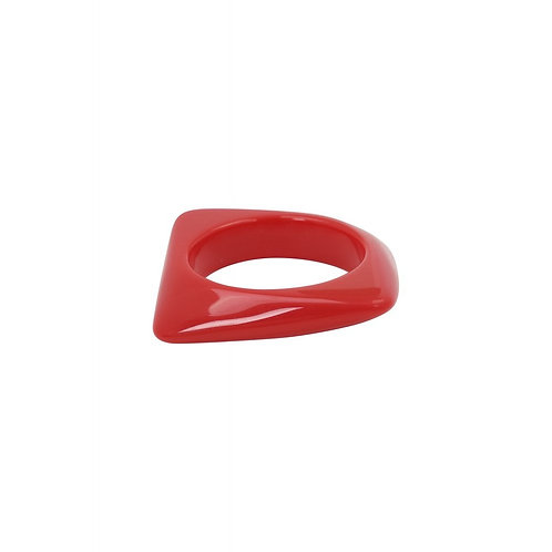 Bracelet Allison Square Red