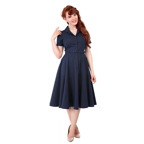 Caterina Navy Pois - Collectif