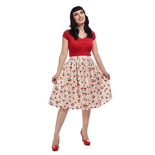 Jupe Jasmine Cherry - Collectif