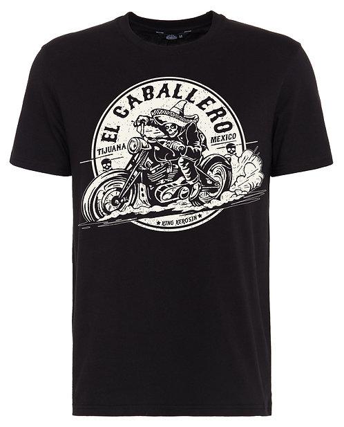 El Caballero Black T-Shirt