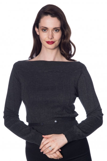 Pull Violetta Gris - Banned