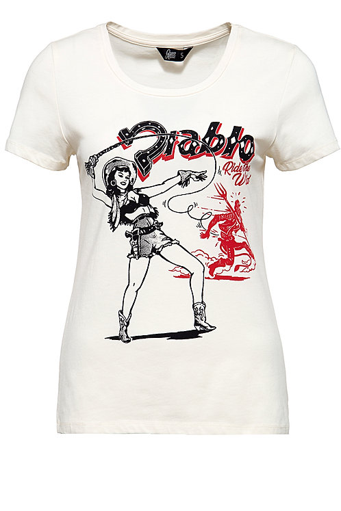 Cow Girl & Diablo T-Shirt