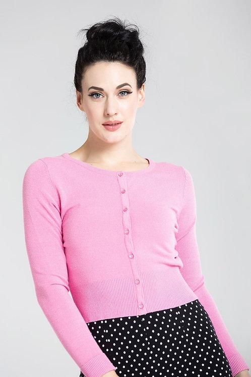 Cardi Paloma Candy Pink - Hell Bunny