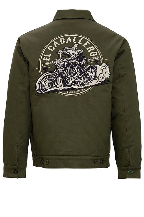 Worker Jacket El Caballero Olive