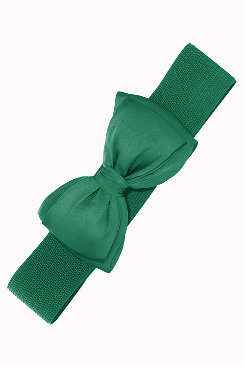 Ceinture Bella Bow - Green