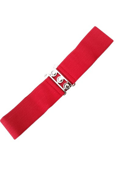 Ceinture Pin-up Rouge