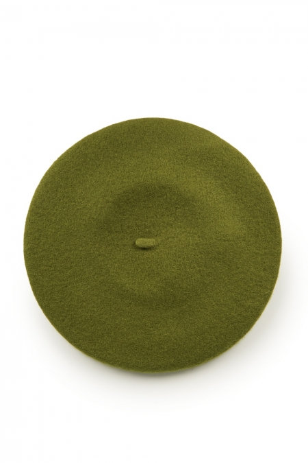 Vintage Claire Hat - Grass Green