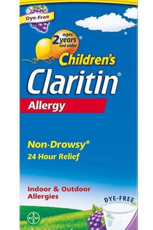 Vegan Friendly Claritin (loratadine) for Allergies