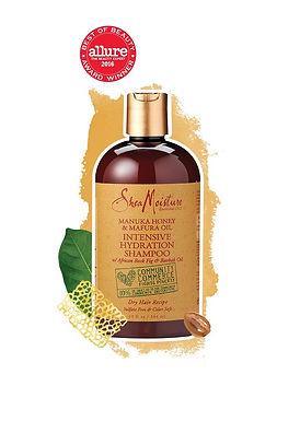 Shea Moisture Manuka Honey & Mafura Oil Hair Product Review