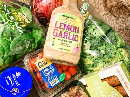 Lemon Garlic Vegetable Pasta