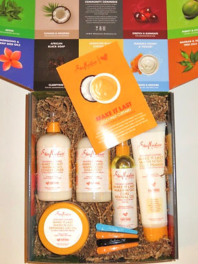 Shea Moisture Coconut Custard Wash N Go Collection Product Review