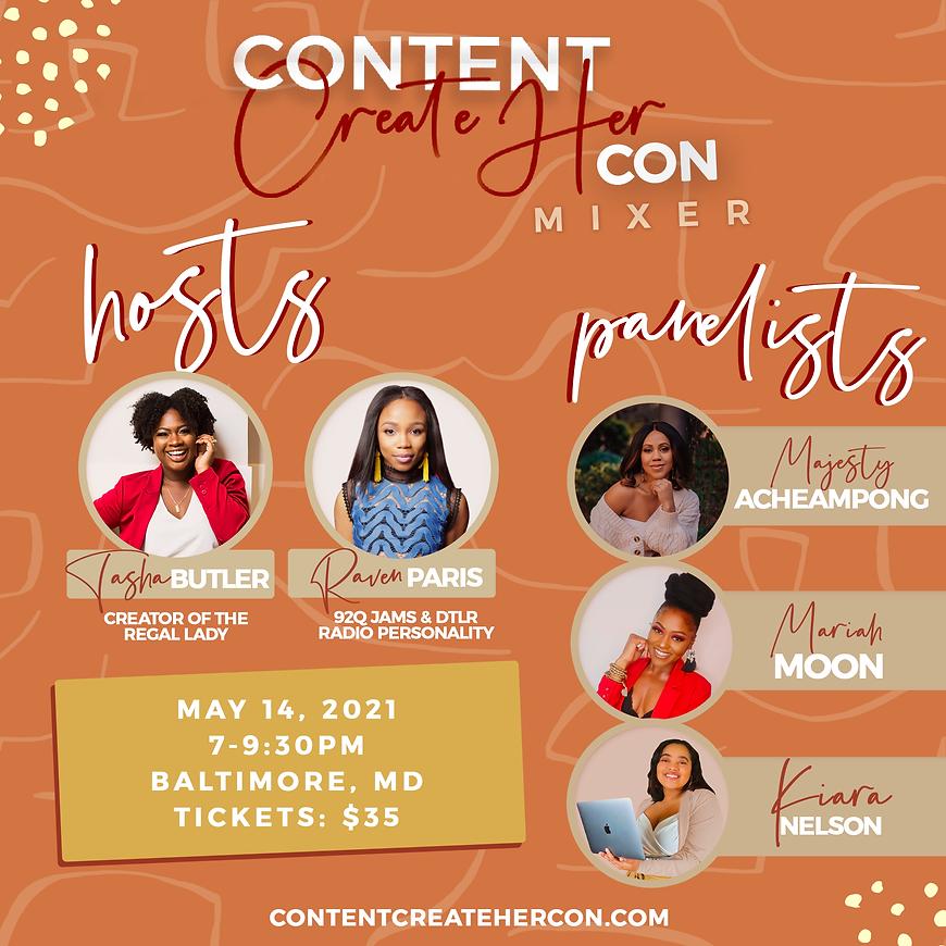 Content CreateHer Con