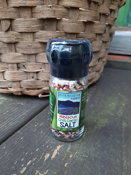 Tryon Mountain Farms Hibiscus Chili Garlic Salt