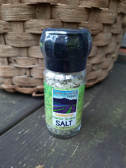 Tryon Mountain Farms Lemony Garlic Scape Salt