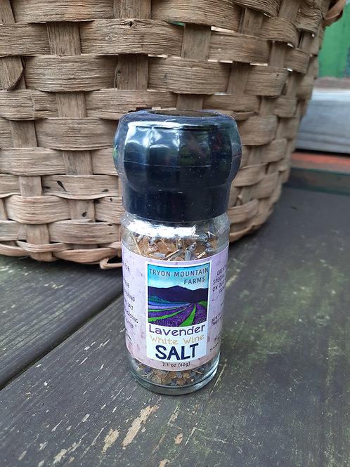 Tryon Mountain Farms Lavender White Wine Salt