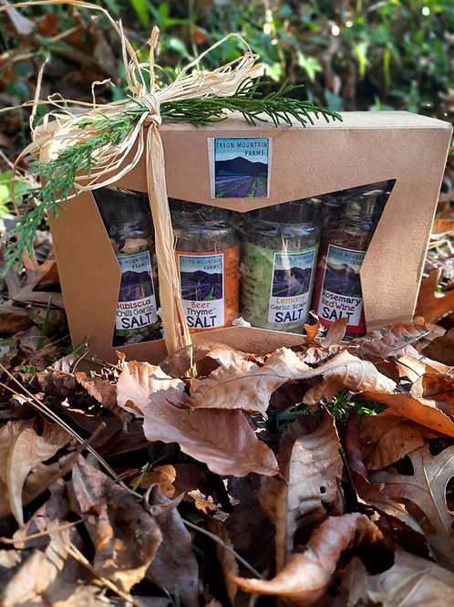 Tryon Mountain Farms  Salt Gift Set (Lemony Garlic Scape Salt)