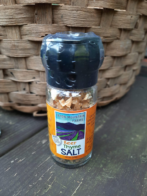 Tryon Mountain Farms Beer Thyme Salt