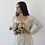 Thumbnail: Curve Collection Ivory Square Neckline Gown