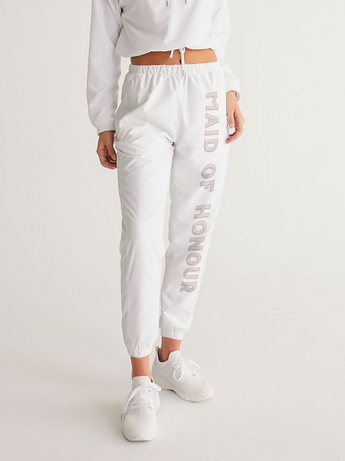 MAID OF HONOUR - retro blush Track Pants