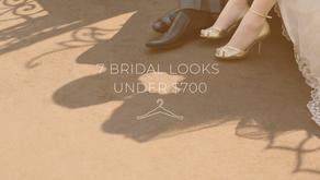 7 Bridal Looks Under $700