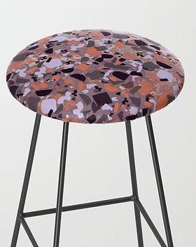 psychedelic-terrazzo-amethyst-bar-stools