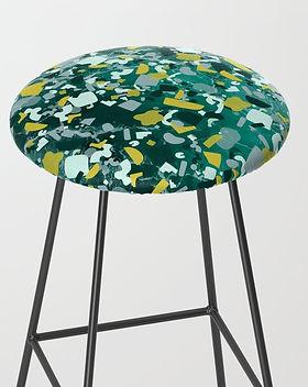 psychedelic-terrazzo-malachite-bar-stool