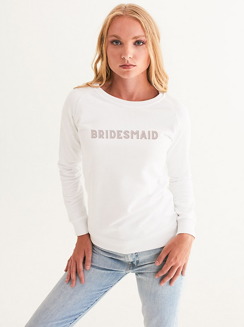 BRIDESMAID - retro blush Graphic Sweatshirt
