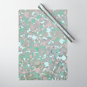 psychedelic-terrazzo-opal-wrapping-paper