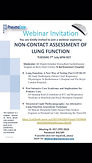 Non-Contact Assessment of Lung Function
