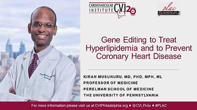 Gene Editing to Treat Hyperlipidemia and to Prevent Coronary Heart Disease