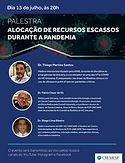 Alocação de Recursos Escassos durante a Pandemia