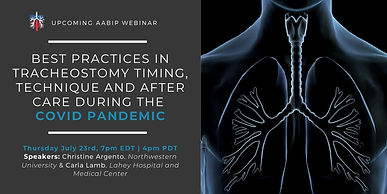 Best Practices in Tracheostomy Timing, Technique and After Care During the COVID Pandemic