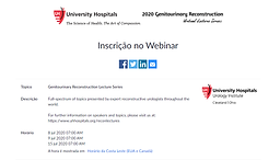 Genitourinary Reconstruction Lecture Series