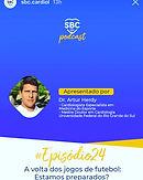 Podcast SBC 024 - A volta dos jogos de futebol: Estamos preparados?