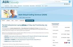 AUA Virtual Coding Seminar (2020): Saturday General Session
