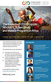 The Impacts of COVID-19 on AIDS, Tuberculosis & Malaria Programs in Africa