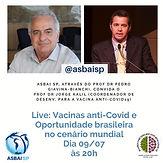Vacinas anti-Covid e Oportunidade brasileira no cenário mundial