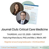 July Journal Club: Critical Care Medicine