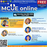 MCUE Online Series July