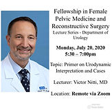 Fellowship in Female Pelvic Medicine and Reconstructive Surgery