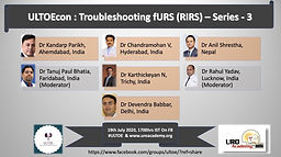 ULTOEcon: Troubleshooting fURS (RIRS) - Series 3