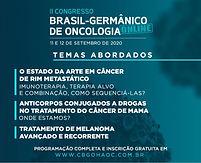 II Congresso Brasil-Germânico de Oncologia Online