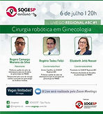 Live GO SOGESP - Regional ABC #1 – Cirurgia robótica em ginecologia