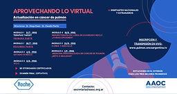 Aprovechando lo virtual - Actualización en cáncer de pulmón
