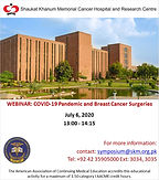 WEBINAR: COVID-19 Pandemic and Breast Cancer Surgeries