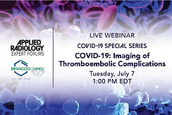 COVID 19: Imaging of Thromboembolic Complications