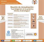 """Reunión de Actualización: """"Las Imágenes en la práctica Clínica Andrológica"""""""