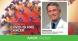 AACR VIRTUAL MEETING: COVID-19 AND CANCER