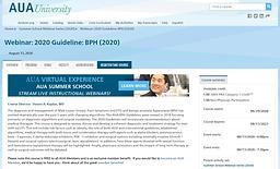 2020 Guideline: BPH (2020)